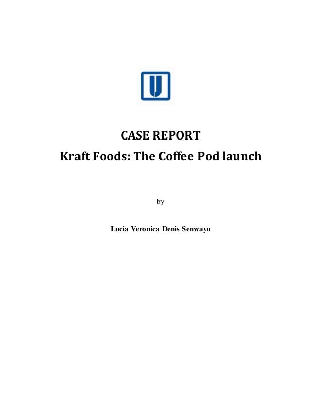 kraft case coffee pod essay If you've been arguing a case in the body of an essay, you should hammer home that case in the final paragraph if you've been examining several alternative propositions, now is the time to say which one is correct.