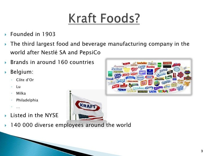 kraft food analysis Welcome to the kraft product hub we've gathered our family of kraft brands right here for you to explore.
