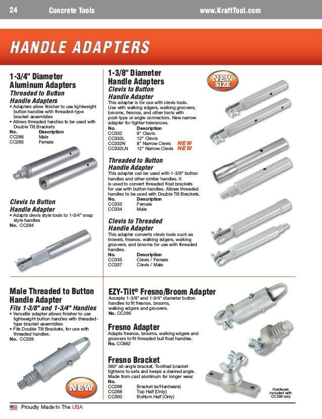 """Kraft Tool Big-D Bull Float 48/"""" x 12/"""" w// EZY-Tilt Bracket"""