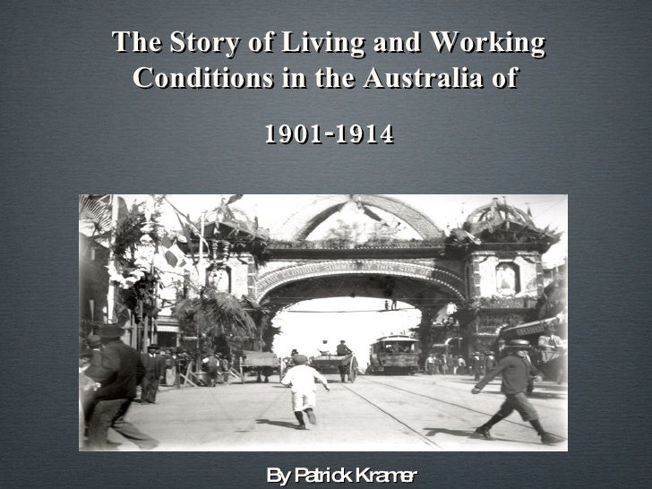 Living and working conditions at the