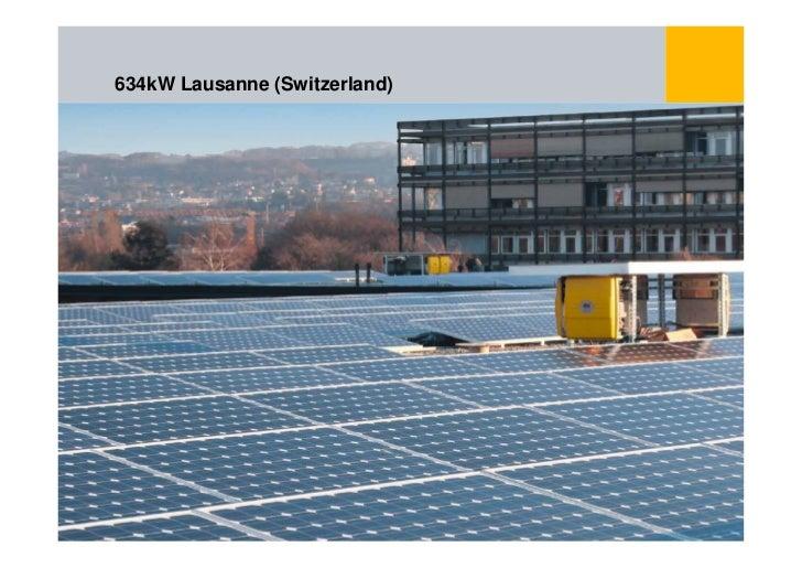 634kW Lausanne (Switzerland)