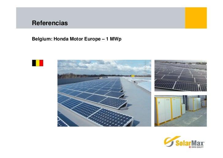 ReferenciasBelgium: Honda Motor Europe – 1 MWp