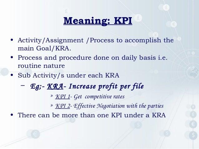 kra of marketing manager