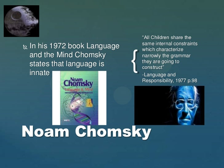 universal grammar chomsky essay The role of universal grammar in second language acquisition - henner kaatz - seminar paper - english - pedagogy, didactics, literature studies - publish your bachelor's or master's thesis, dissertation, term paper or essay.