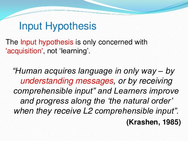 stephen krashens What is linguist stephen krashen's theory on second language acquisition and how can it help you reach your language learning goals.