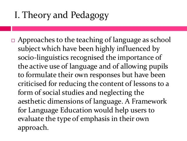 language acquisition theories how influences teaching Environmental influences on language acquisition a major proponent of the idea that language depends largely on environment was the behaviorist b f skinner (see pages 145 and 276 for more information on skinner)he believed that language is acquired through principles of conditioning, including association, imitation, and reinforcement.