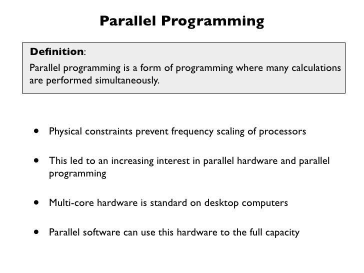 Multi-core Parallelization in Clojure - a Case Study Slide 3