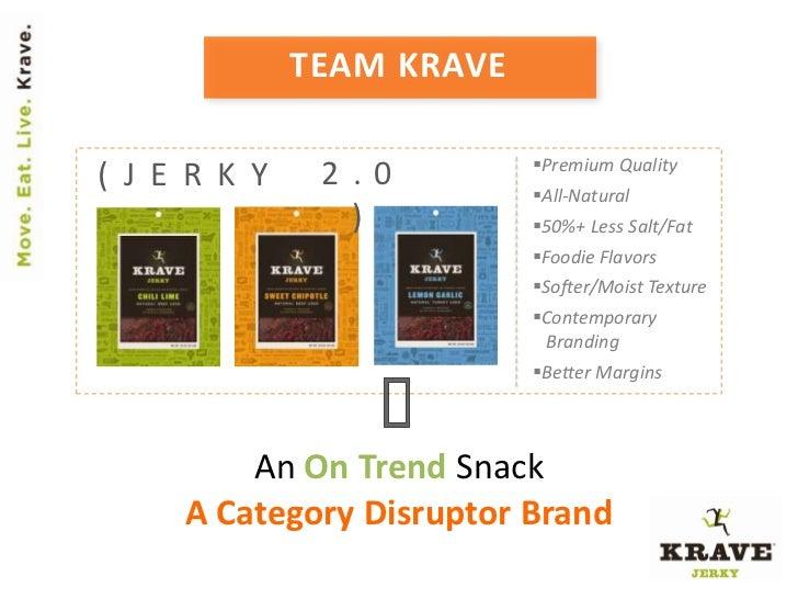 TEAM KRAVE                           Premium Quality( J E R K Y    2.0         All-Natural                )          50...