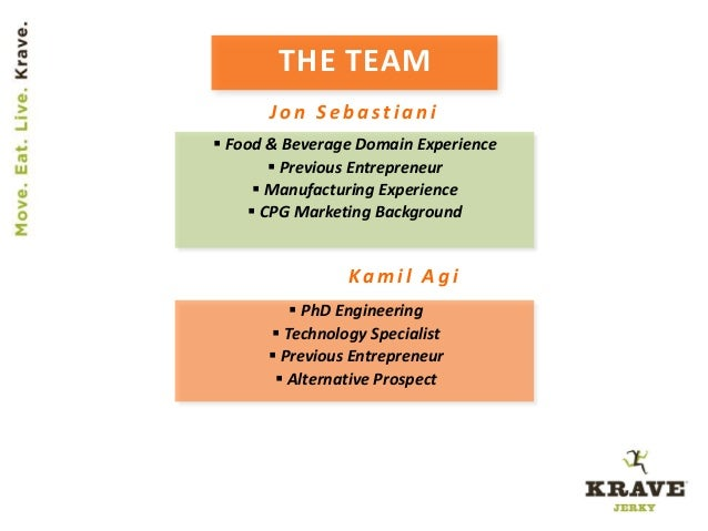 THE TEAM  PhD Engineering  Technology Specialist  Previous Entrepreneur  Alternative Prospect  Food & Beverage Domain...