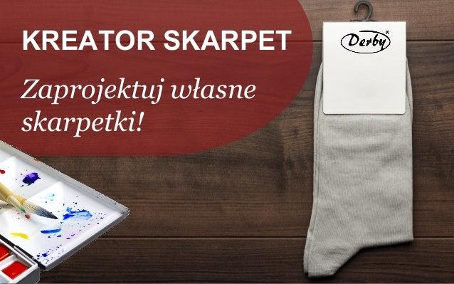 KREATOR SKARPET Zaprojektuj własne skarpetki!