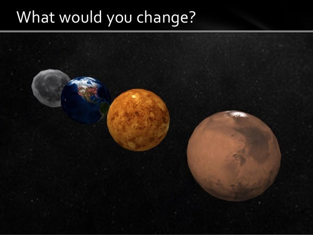 What would you change?