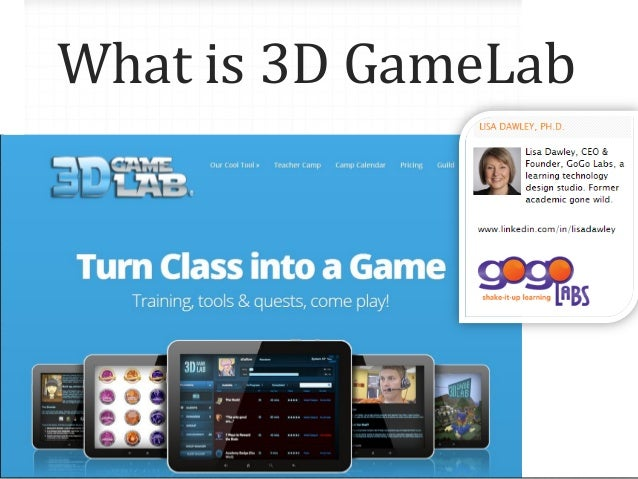 What is 3D GameLab