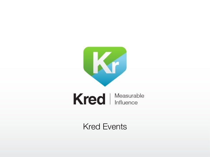 Kred Events