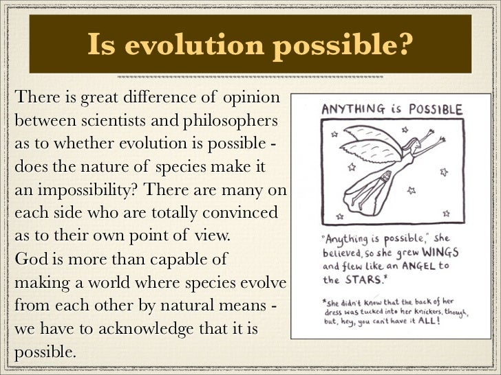 the existence and evolution of evil Start studying intro to philosophy final exam true/false  about the existence of his mind that the existence of his body  that the theory of evolution by .
