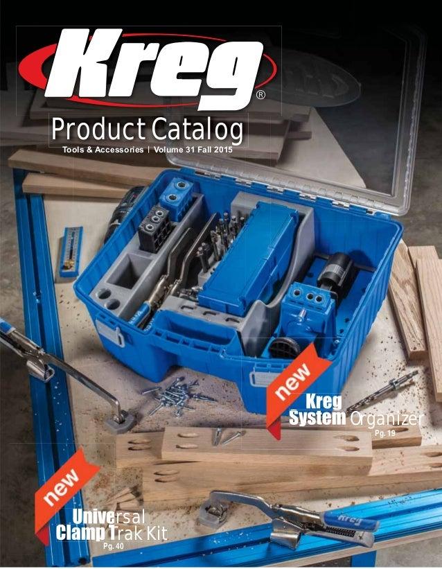 Kreg Heavy-Duty Pocket-Hole Jig Anti-Corrosion Layer Hardened Steel Drill Guides