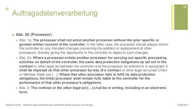 Datenschutz Grundverordnung Ds Gvo Anwaltliche Beratung Heute Und