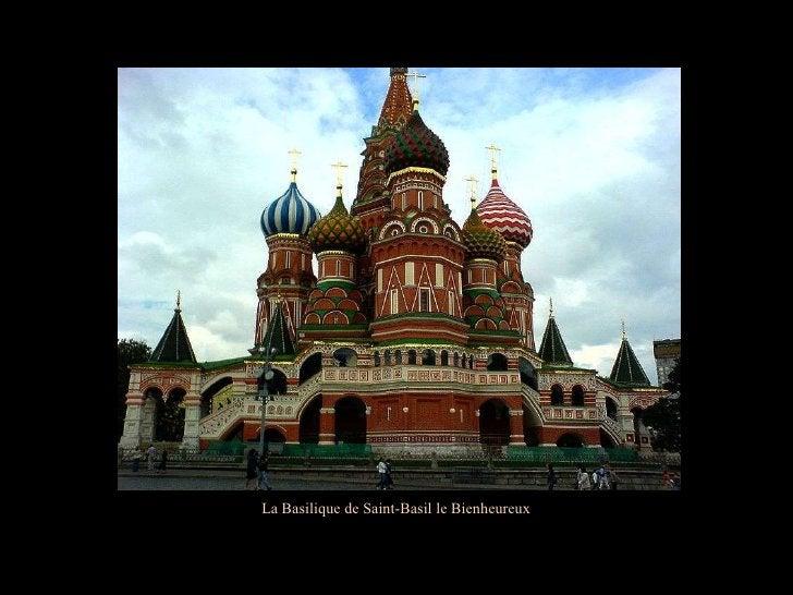La Basilique de Saint-Basil le Bienheureux