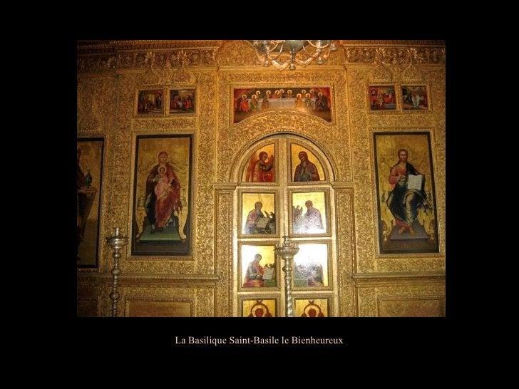 La Basilique Saint-Basile le Bienheureux