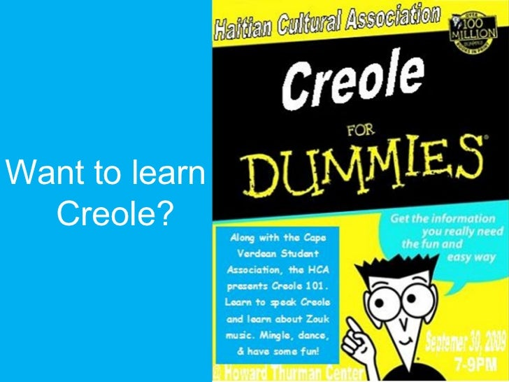 Want to learn  Creole?