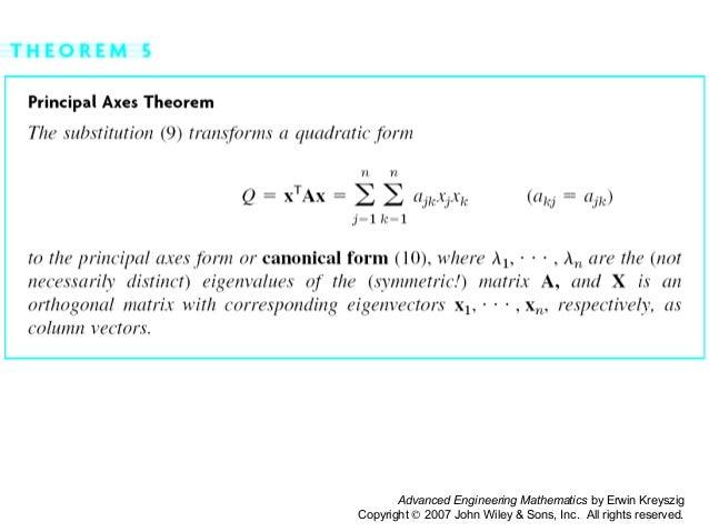 Kreyzig ch 08 linear algebra
