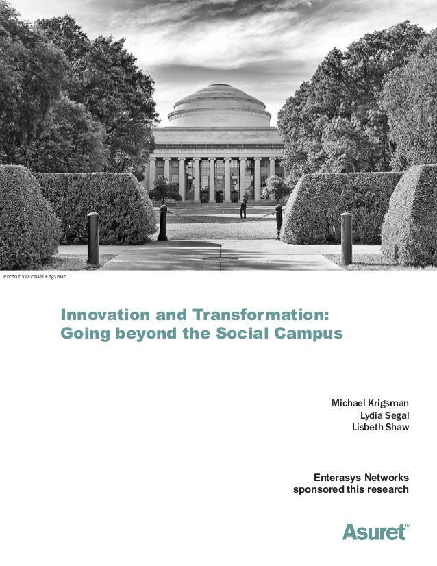 Photo by Michael Krigsman                      Innovation and Transformation:                      Going beyond the Social...