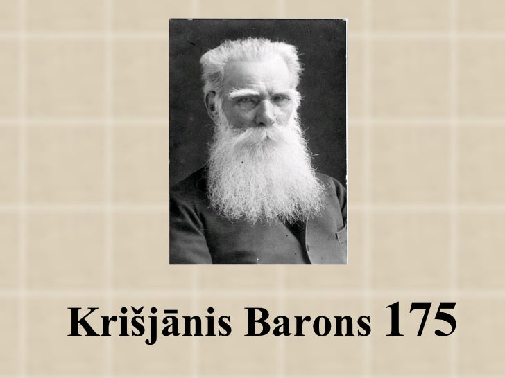 Krišjānis Barons  175