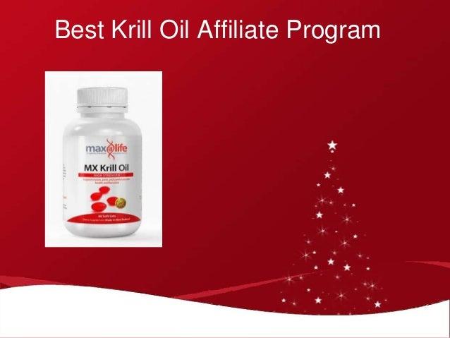 Krill oil affiliate program for Krill oil versus fish oil