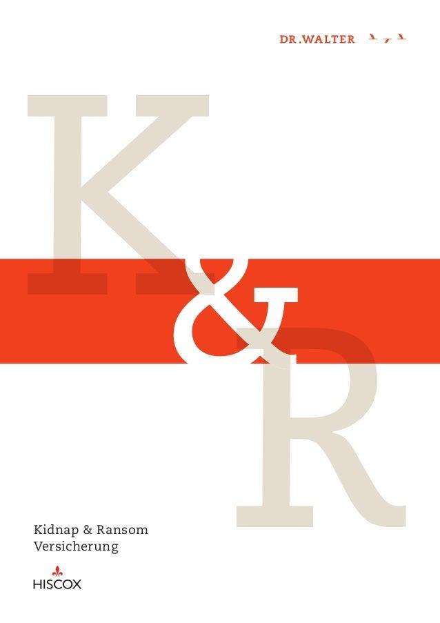 Kidnap & RansomVersicherung