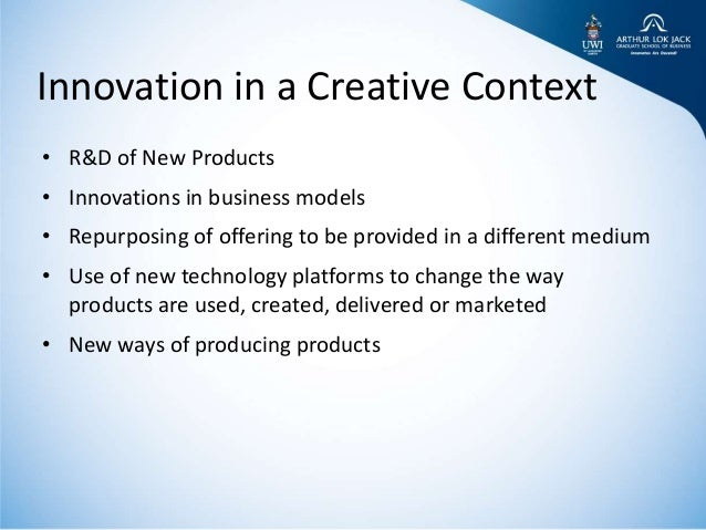 Innovation and entrepreneurship in the cultural and creative sectors in Trinidad and Tobago   Presented at USST Shanghai, China by Kris Granger Slide 3