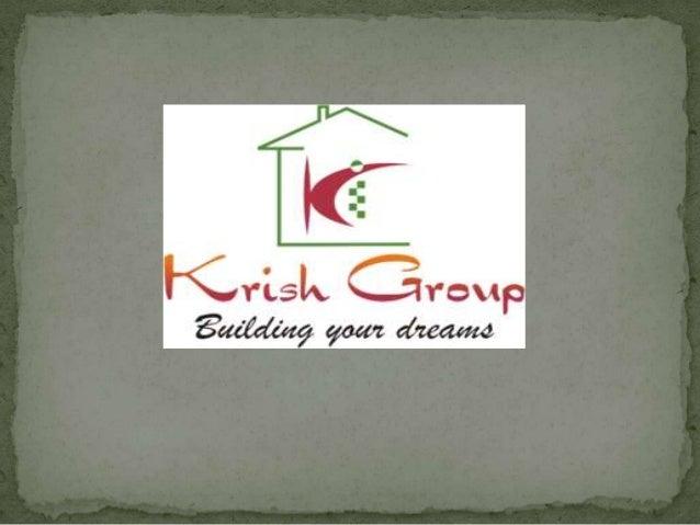 Krish Group Lanuching New Project in Bhiwadi : Krish Aura  After success of Krish ICON, Krish Vatika (Phase-II), Krish Cit...