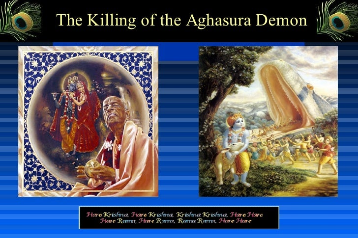 The Killing of the Aghasura Demon