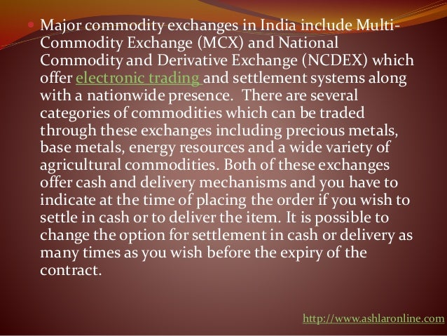 Alternative trading systems in india