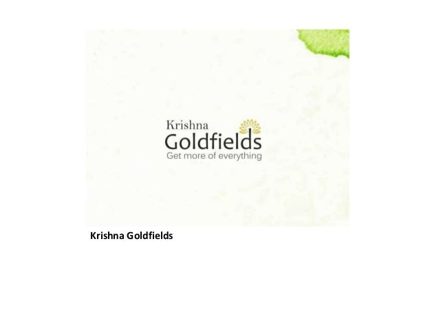 Krishna Goldfields