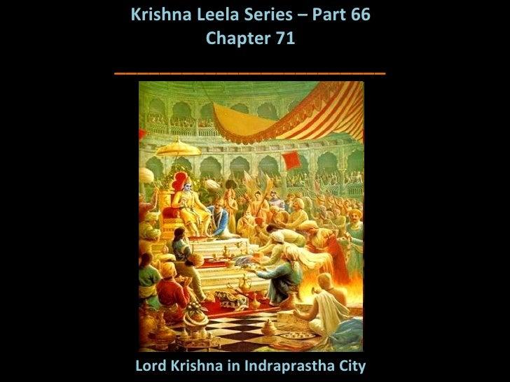 Krishna Leela Series - Part 66 - Lord Krishna in