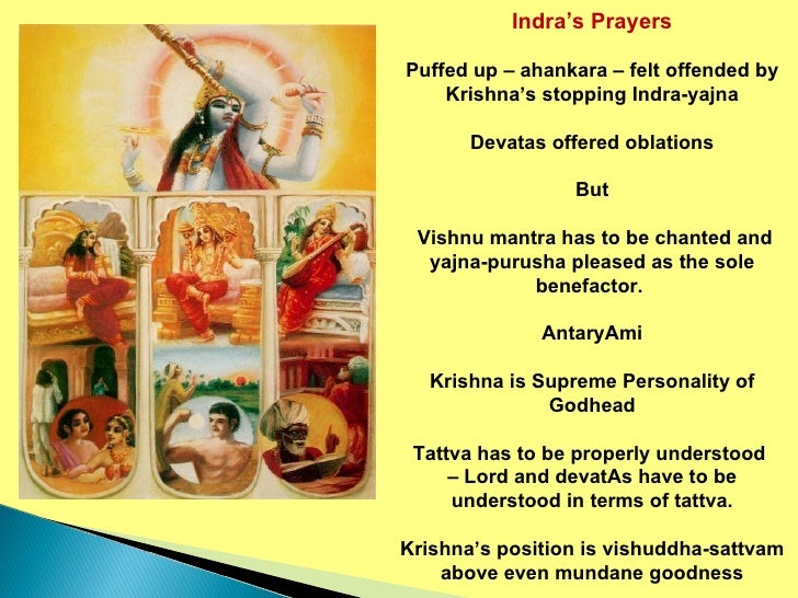 Krishna Leela Series Part 28 Prayers Of Indra, The King Of