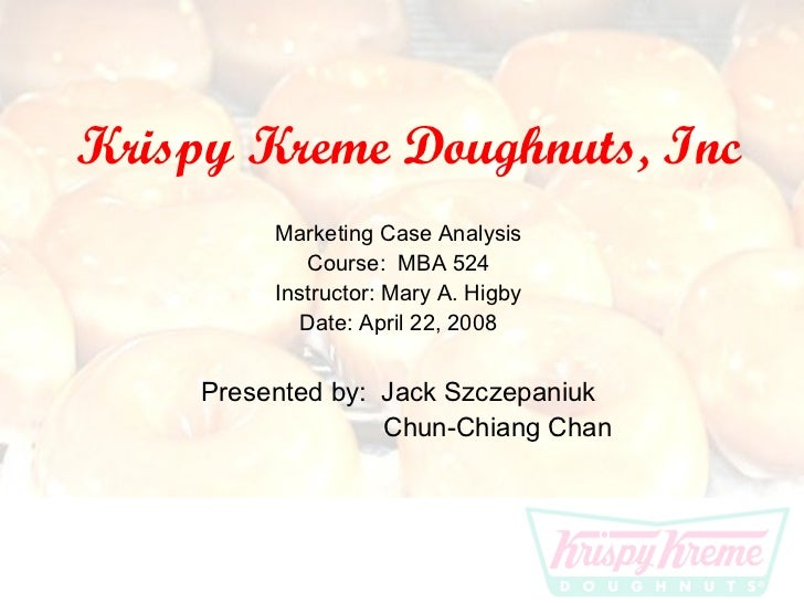 Krispy Kreme Douchnuts Financial Essay