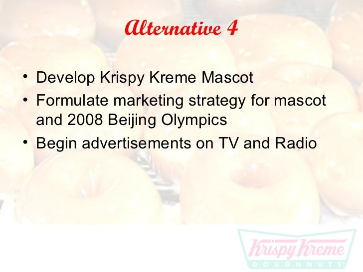 krispy kreme doughnuts strategic analysis Wikiwealth offers a comprehensive swot analysis of krispy kreme doughnuts ( kkd) our free research report includes krispy kreme doughnuts's strengths,.