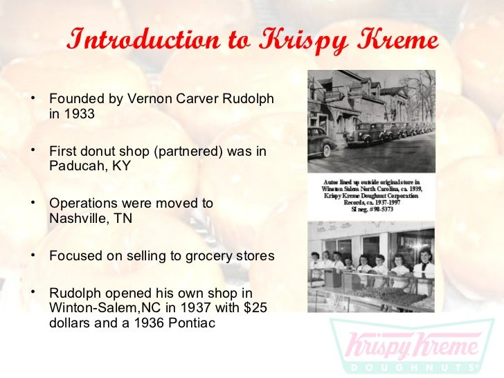 krispy kreme doughnuts inc essay For krispy kreme doughnuts due to their massive krispy kreme (use porters five forces model analytictool)  doughnuts inc  check out our top essay.