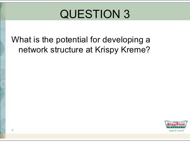 What is a case analysis paper krispy kreme
