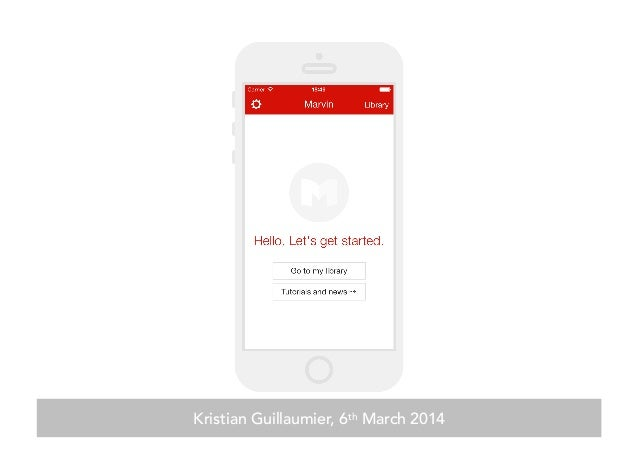Kristian Guillaumier, 6th March 2014
