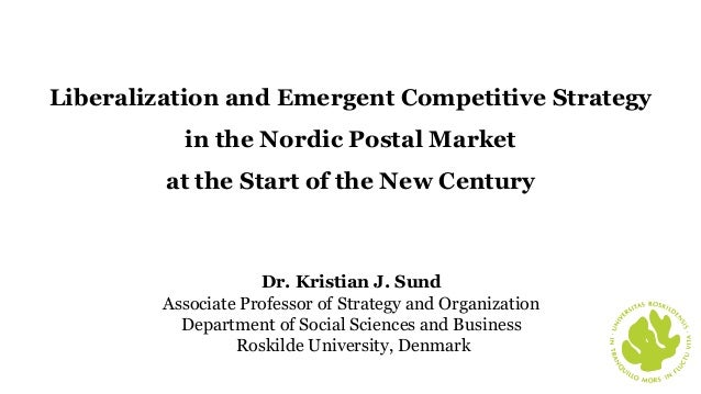 Dr. Kristian J. Sund Associate Professor of Strategy and Organization Department of Social Sciences and Business Roskilde ...