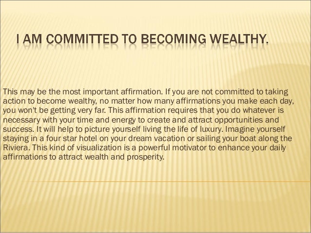 Kristie howard's daily wealth affirmations april 24 2013