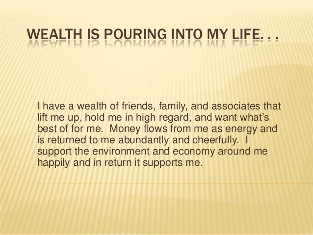 Kristie howard's daily wealth affirmations april 25 2013