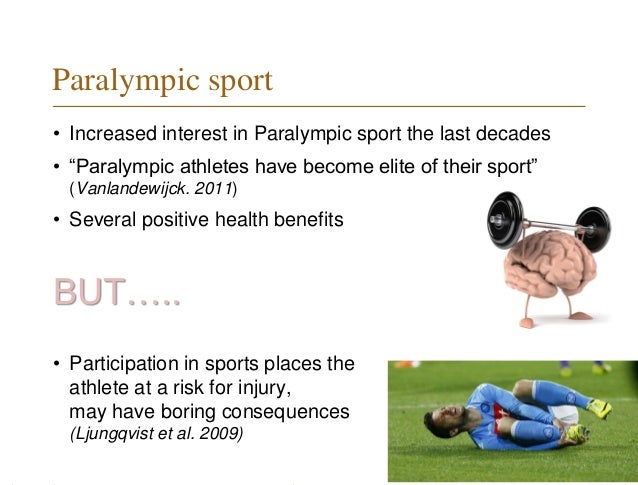 The positive effects of exercises and the different causes of sports injuries
