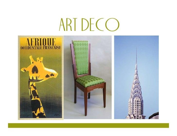 ART DECO     1 Art Deco