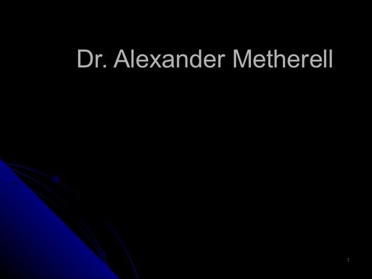 Dr. Alexander Metherell ISUS KRIST:  MEDICINSKI  IZVJEŠTAJ  O MUCI