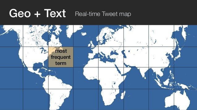 Geo + Text Real-time Tweet map  Nelson Mandela  passed away  Dec 5, 2013