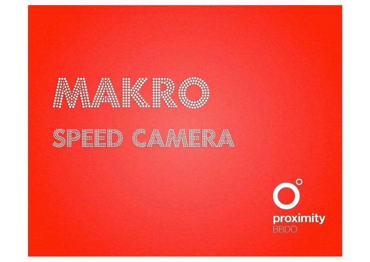 MAKROspeEd camera