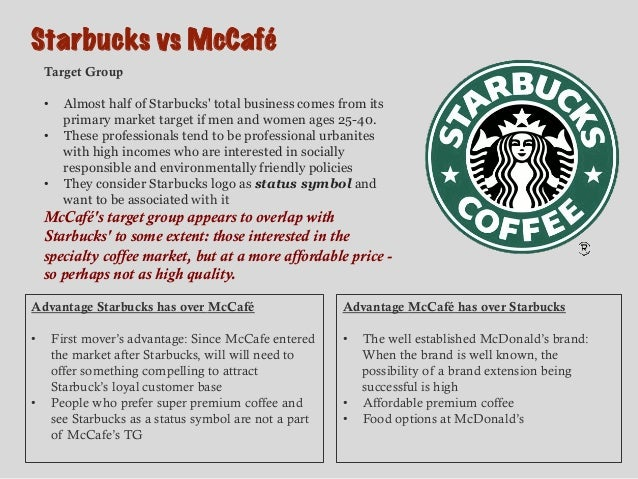 starbucks vs mccafe Mcdonald's is rolling out an upgraded mccafe, with coffee beans from sustainable sources, to try to compete with chains like starbucks.