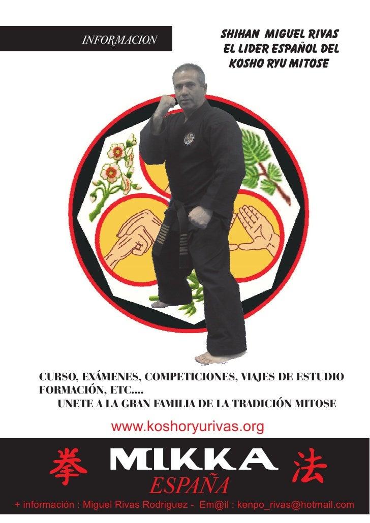 INFORMACION                  SHIHAN MIGUEL RIVAS                                            el lider español del          ...